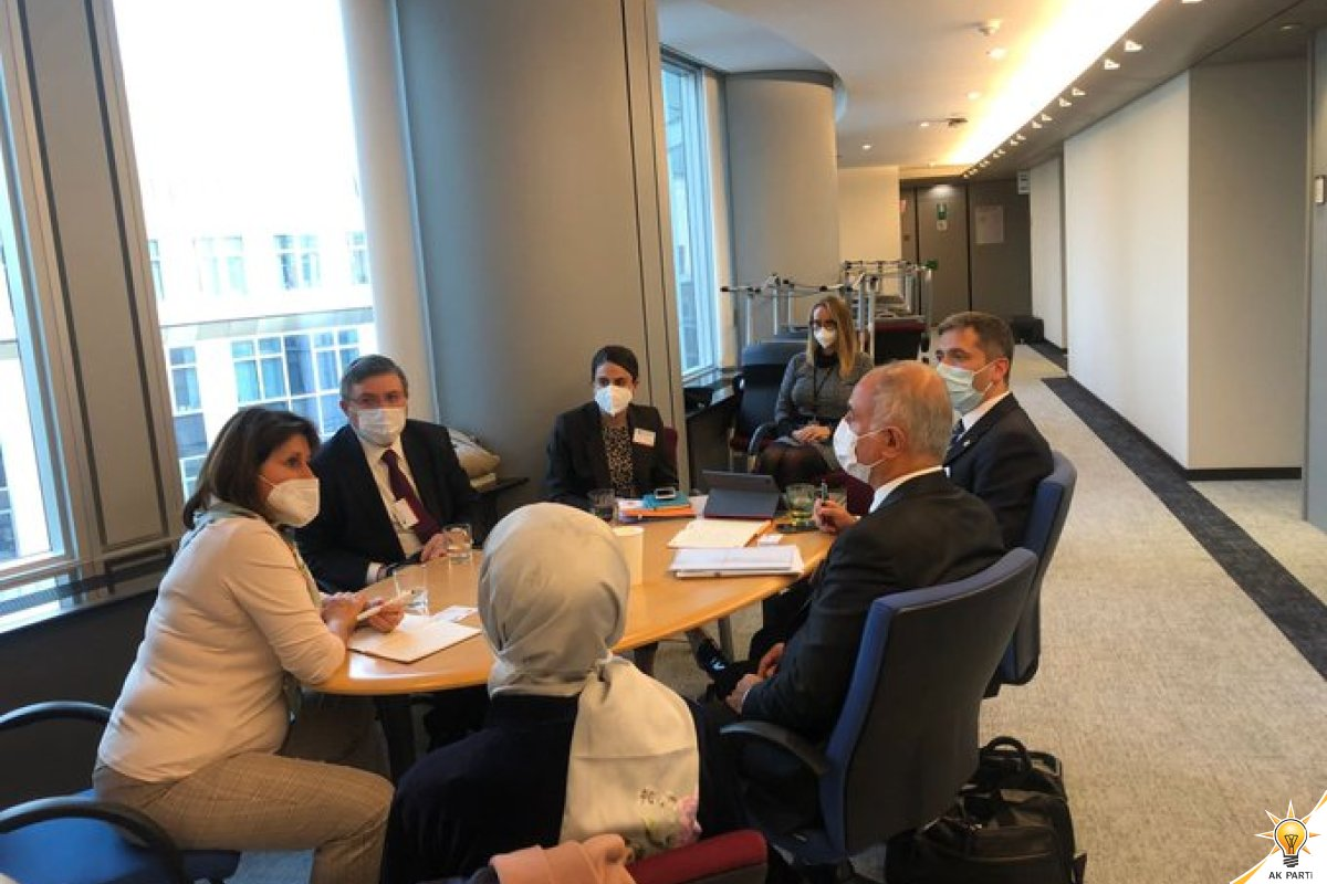 Visit of Our Delegation to the European Parliament