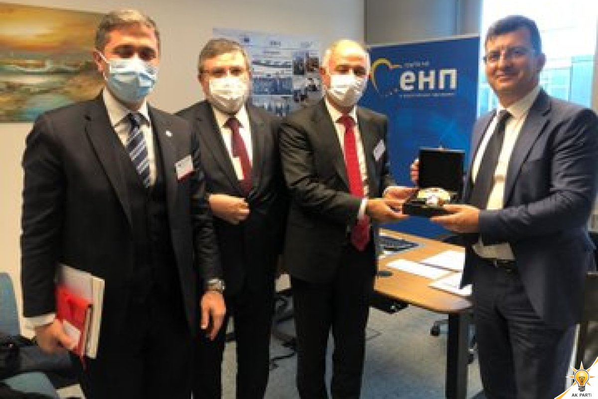 Visit of Our Delegation to Mr Asım ADEMOV The Member of European Parliament and Group of the European People's Party
